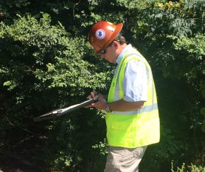 Environmental site assessment drilling