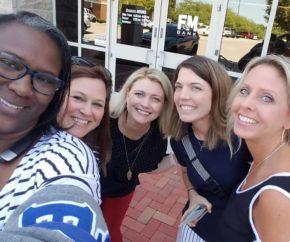 Clarksville Ladies attending Clarksville Chambe Womens Luncheon_JB